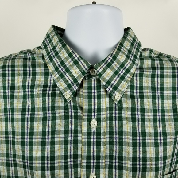 52782c473 Brooks Brothers Country Club Green Blue Check